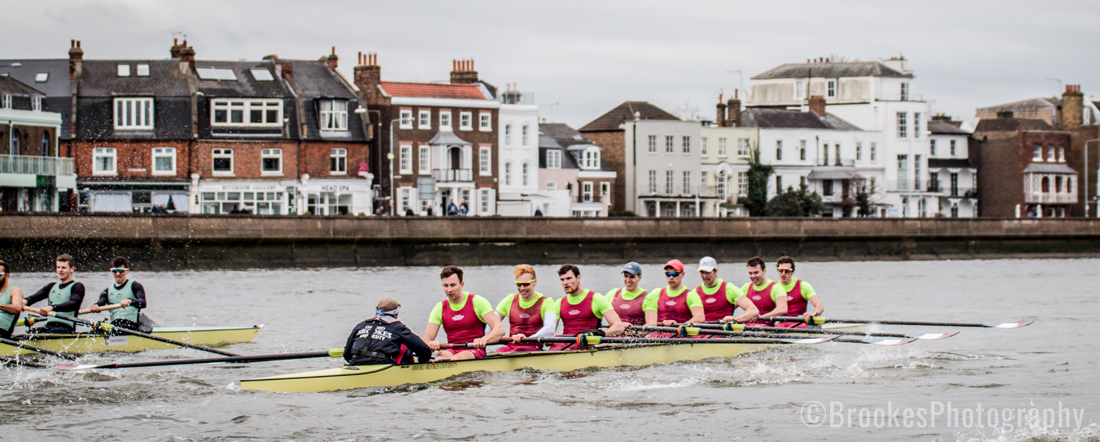 Brookes lead CUBC in their final Boat Race match warm up