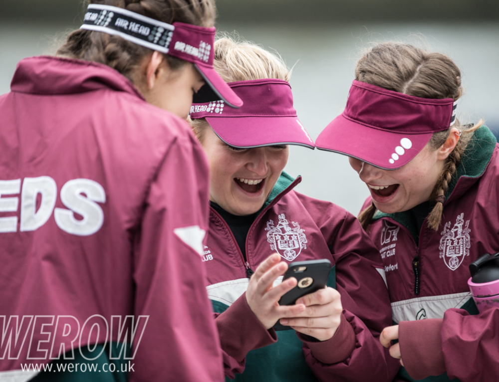 Women's Eights Head of the River Race boating and awards images