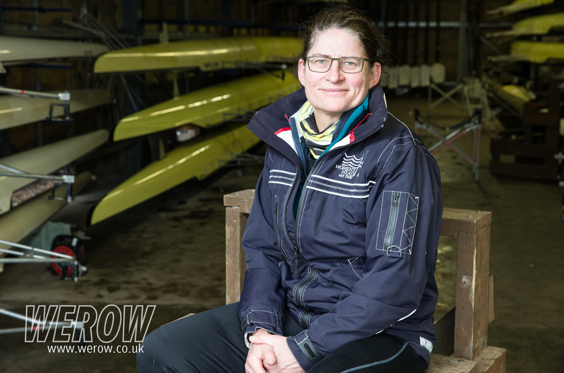 Guin Batten Chair of WEHoRR sitting