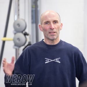 Sean Boawden of Oxford University Boat Club