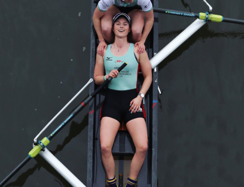 The women's Boat Race image that captures the modern race