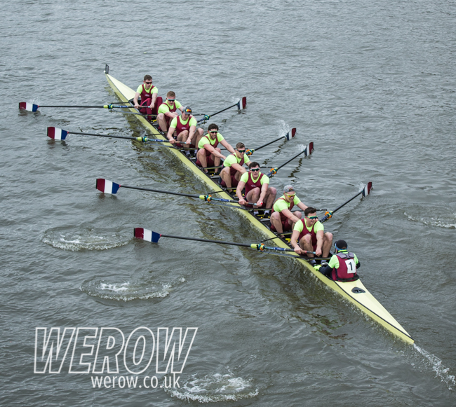 Leander dead heat with Brookes at HORR