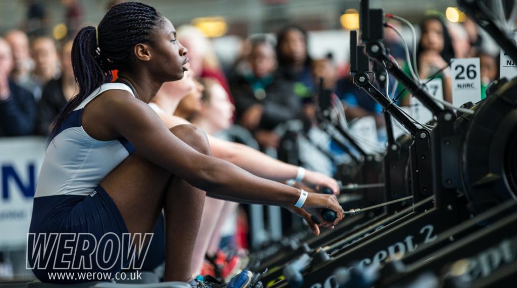 Julia Olawumi of Globe Rowing Club