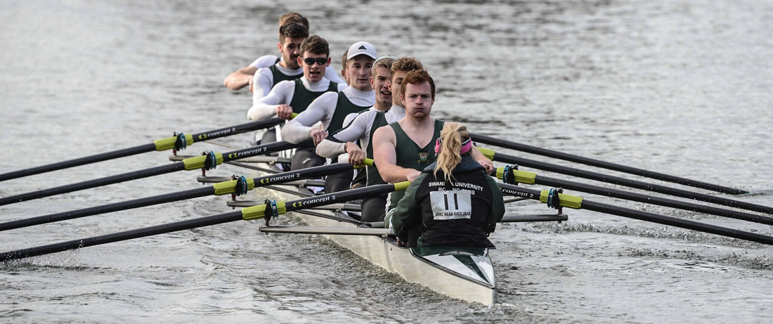 Swansea University Boat Club at Bristol Head