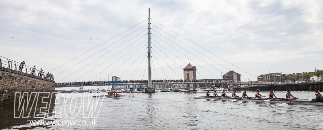 The Welsh Boat Race in Swansea Marina