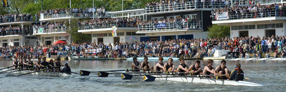 Summer Eights in Oxford