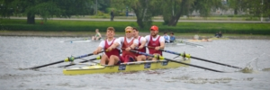 Ed Grisedale, Quentin Antognelli, Henry Swarbrick and Oliver Wilkes of Oxford Brookes