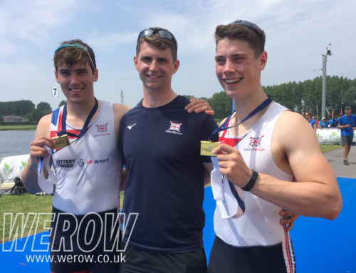 Cartwright and Offiler take gold in tense European Rowing Junior Championships final