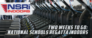 National Schools Regatta Indoors with Concept 2, LYR & NSR