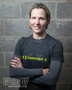 Sarah Gibbs indoor rowing athlete