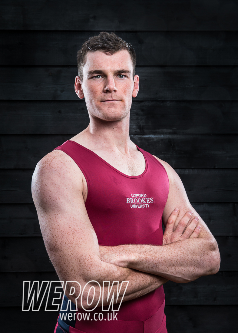 Matthew Aldridge of Oxford Brookes University Boat Club
