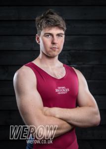 Sam Nunn of Oxford Brookes University Boat Club