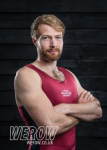 Ed Grisedale of Oxford Brookes University Boat Club