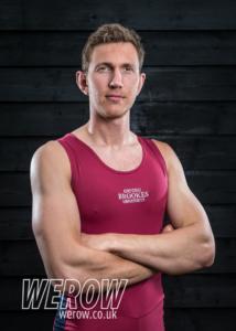 Tim Grant of Oxford Brookes University Boat Club