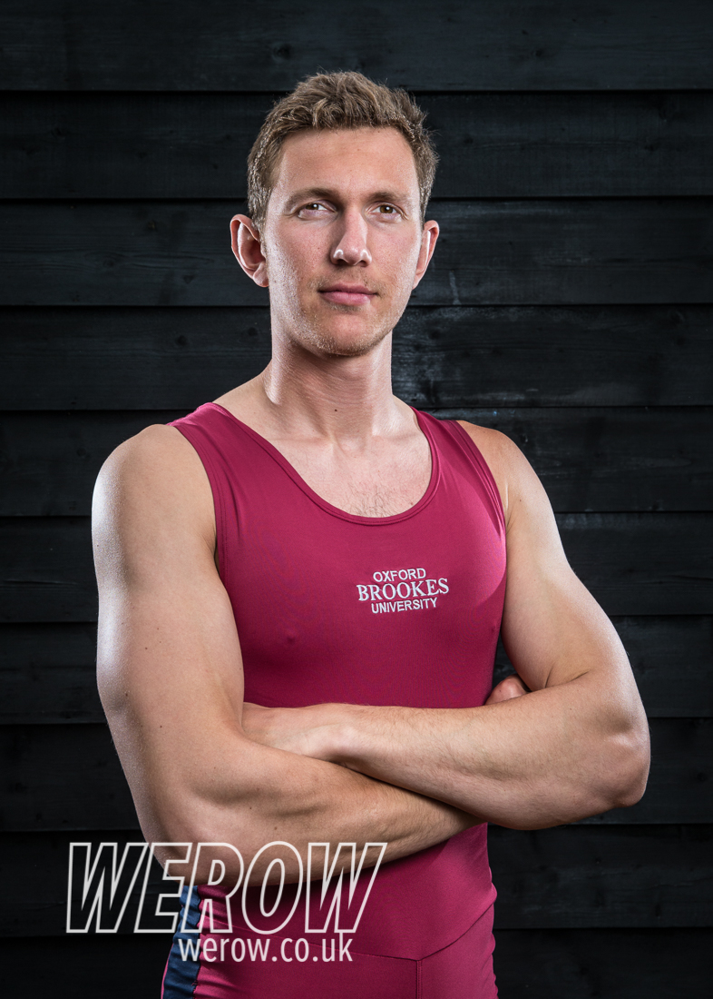 Tim Grant of Oxford Brookes University Boat Club