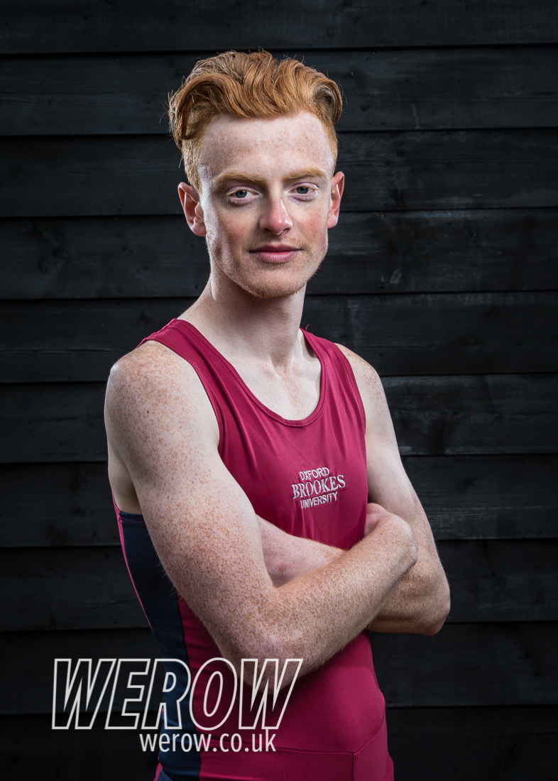 Harry Brightmore of Oxford Brookes University Boat Club