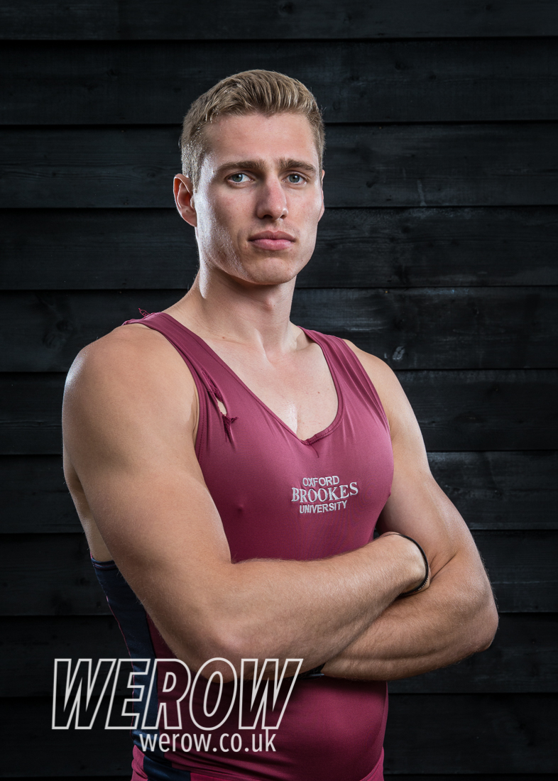 Rory Gibbs of Oxford Brookes University Boat Club