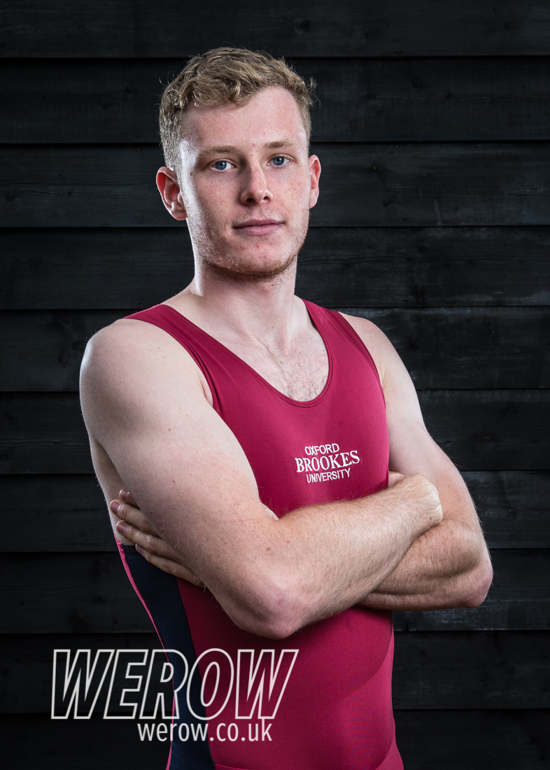 Matt Rowe of Oxford Brookes University Boat Club