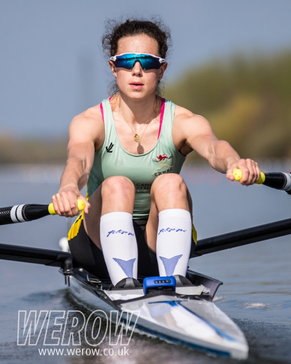 Imogen Grant od CUWBC at GB Trials 2018