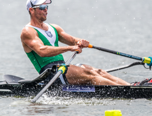 Robbie Manson takes the next step towards the World Rowing Championships