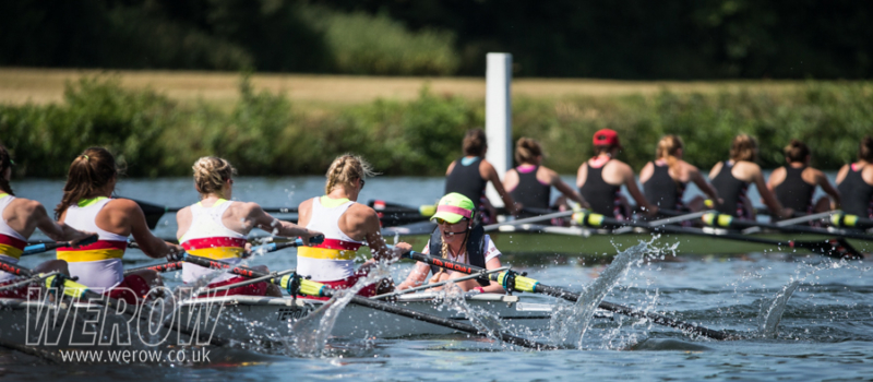 Tideway Scullers Club lead Thames Rowing Club at Henley Women's Regatta