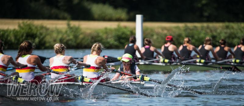 Tideway Scullers Club lead Thames Rowing Club at Henley Women's Regatta