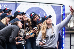 Molesey women's eight take club pennant at WEHoRR 2018