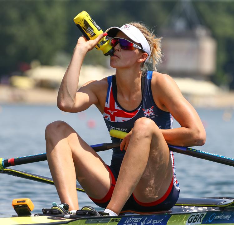 Victoria Thornley, Women's Single Sculls, Great Britain, Heats, 2018 World Rowing Cup I, Belgrade, Serbia