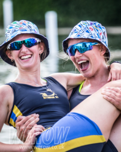Charlotte Brown & Lucy Holgate of Nottingham Rowing Club