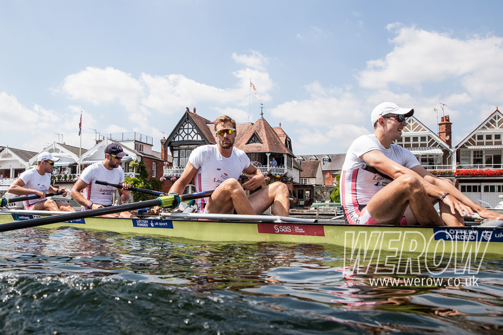 Adam Neill looks on calmly after winning the Stewards Challenge Cup at Henley Royal Regatta