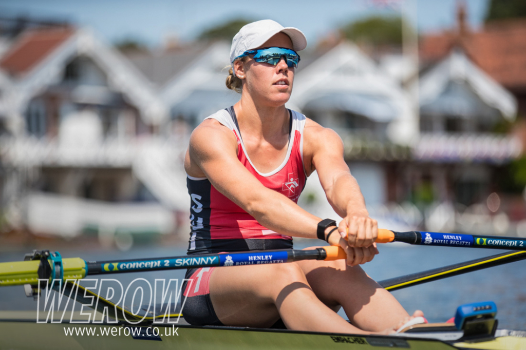 Henley Royal Regatta WEROW Jeannine Gmelin 2 1024x682 - Jeannine Gmelin, World Champion sculler makes her Henley Royal Regatta debut