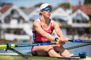 Jeannine Gmelin at Henley Royal Regatta 2018