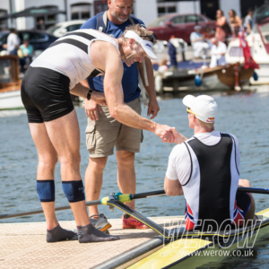 Mahe Drysdale conmiserates with Borch on the pontoon at Hneley Royal Regatta 300x300 - Mahe-Drysdale-conmiserates-with-Borch-on-the-pontoon-at-Hneley-Royal-Regatta