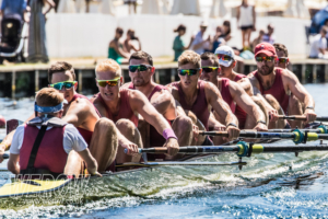 Oxford Brookes rowing in the Ladies Challenge Plate at Henley Royal Regatta 2018