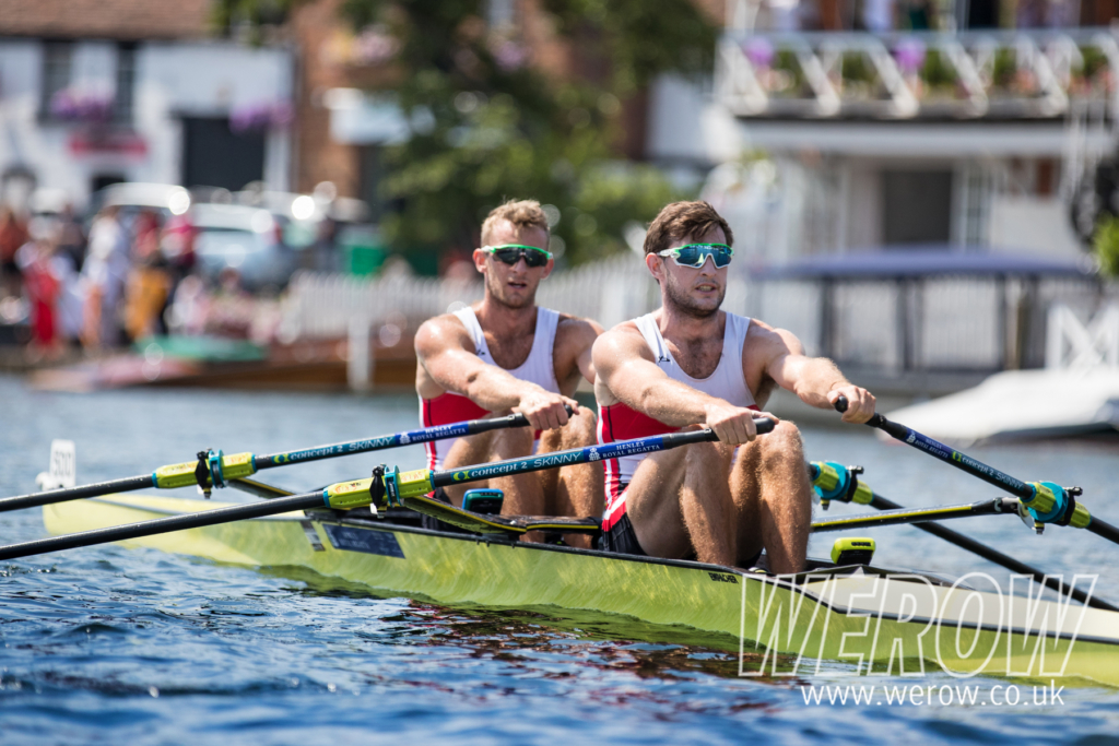 Paul and Gary O'Donovan made their Henley Royal Regatta debut in the double sculls