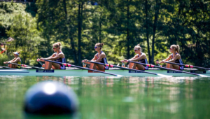 The LW4x at World Rowing Cup III Lucerne