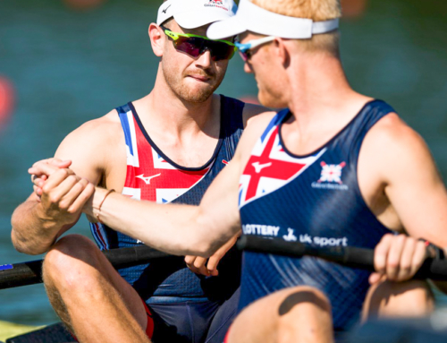 Disappointment for the men's quad at World Rowing Cup III