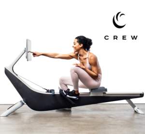 CREW indoor rowing machines