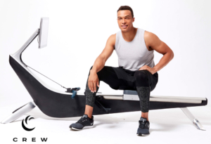 CREW brings the on-water experience to the indoor rower