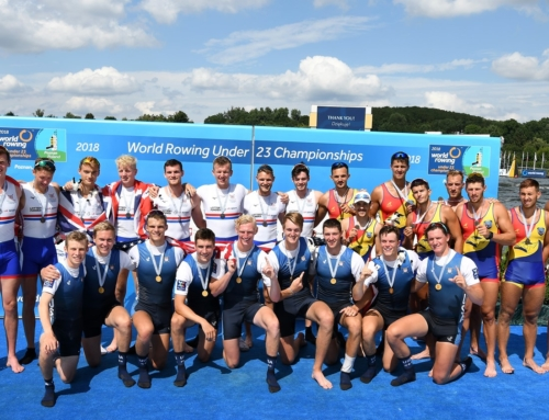 The WRU23Champs, Rowing New Zealand and Yale University