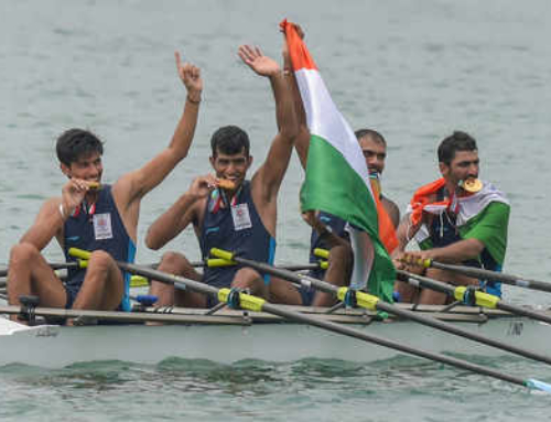 India wins second ever gold at Asian Games and fires national coach