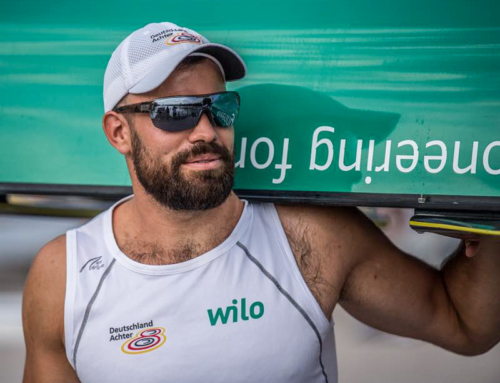 Max Planer's second year as World Rowing Champion in the Deutschland Achter