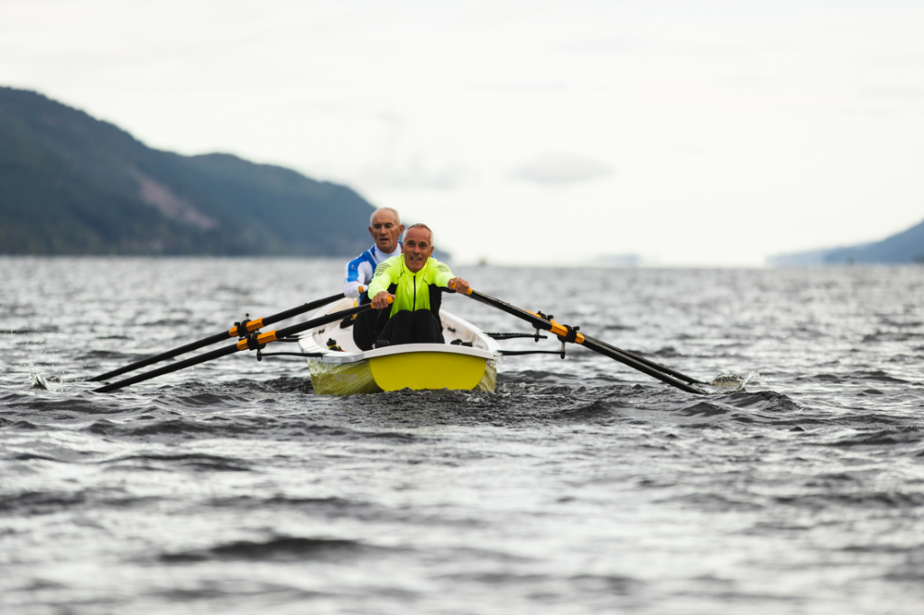 MonsterTheLoch yellow nordic 2x length  1024x682 - Loch Ness record stands despite sterling effort from Tyrian Boat Club