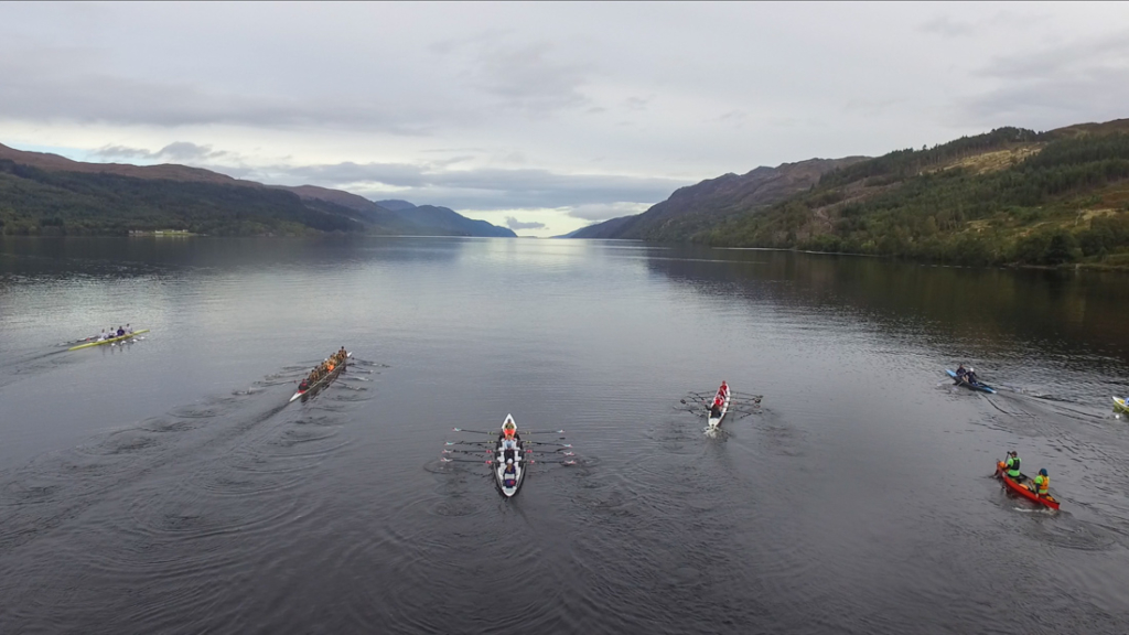 monster the loch Start from the air  1024x576 - Loch Ness record stands despite sterling effort from Tyrian Boat Club