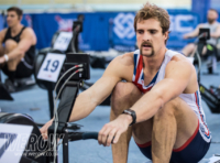 Adam Neill winner of the British Indoor Rowing Championships BRIC17 WEROW  - Mizuno sponsor British Rowing Indoor Championships