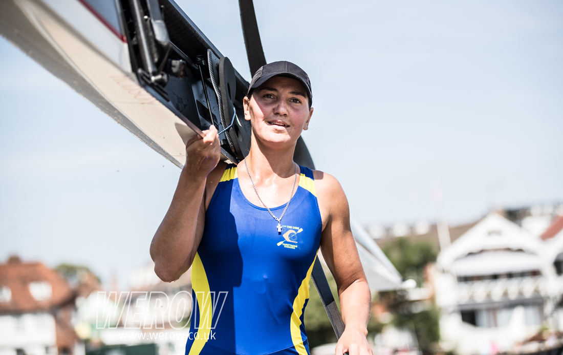 Diana Dymchenko of Ukraine at Henley Royal Regatta 2018_WEROW