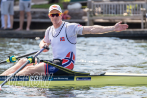 Kjetil Borch at Henley Royal Regatta will be competing at the Philadelphia Gold Cup 2018