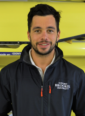 Ben Murphy foundation coach at Oxford Brookes University Boat Club