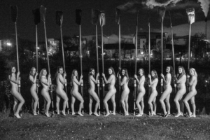 Glasgow University Boat Club naked calendar