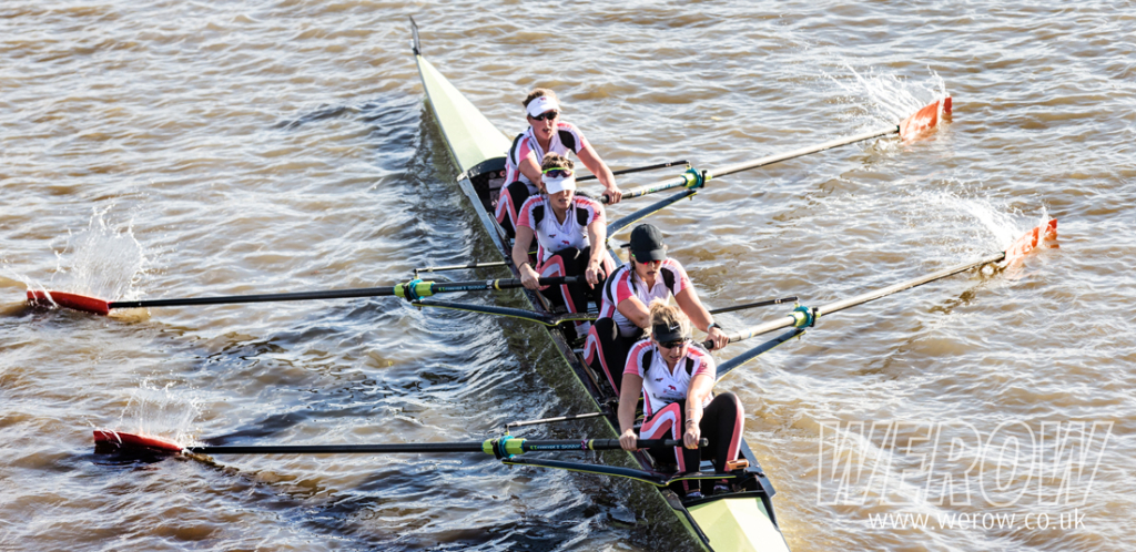 Leander Champ W4- at the Fuller's Head of the River Fours